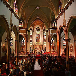 Immaculate Conception Wedding