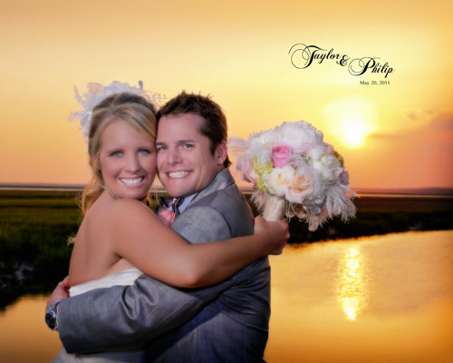 Walkers landing amelia island florida wedding album