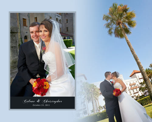 st. augustine lightner museum wedding album